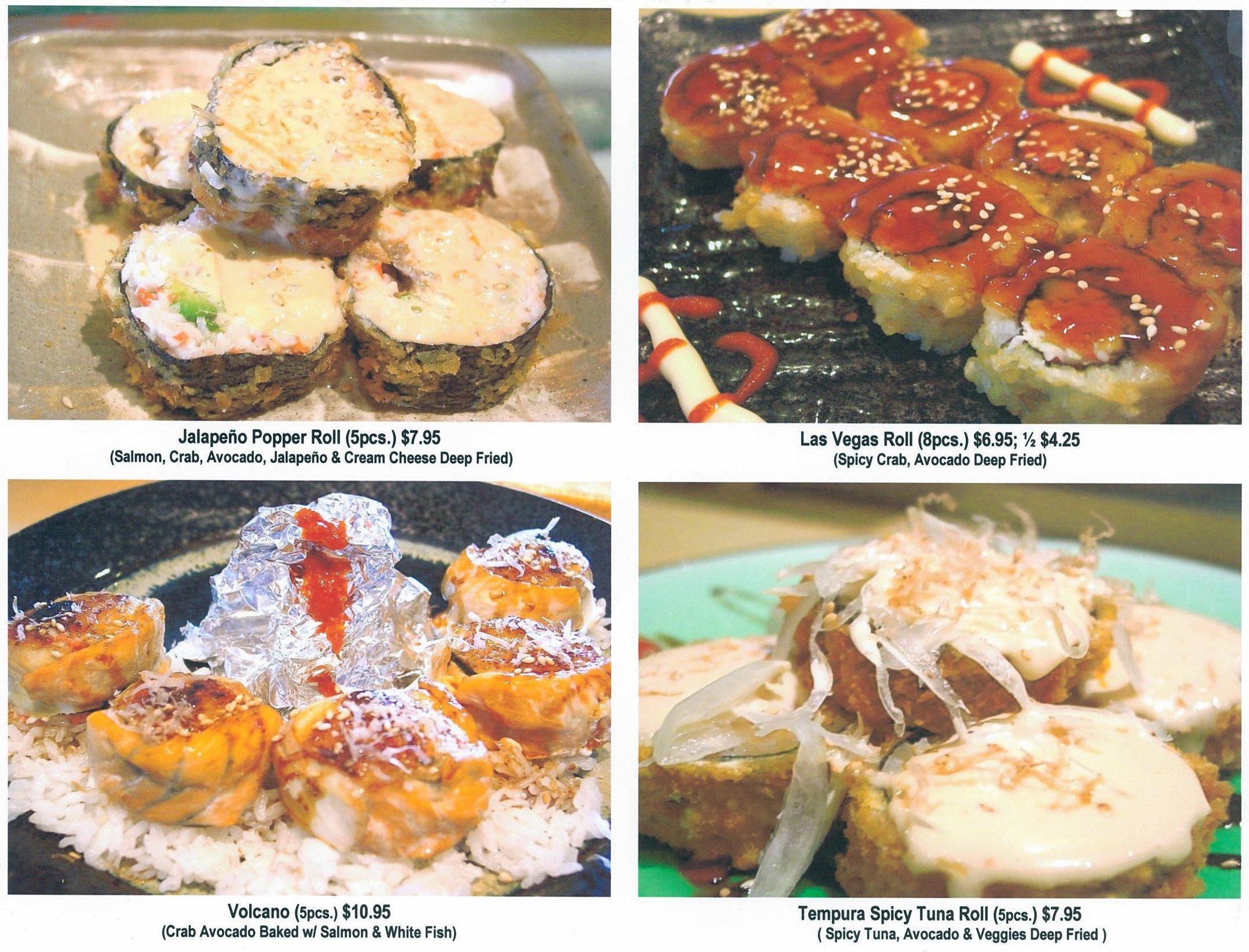 Sushi kawa sports bar grill asian asian fusion for Asian fusion cuisine and sushi bar
