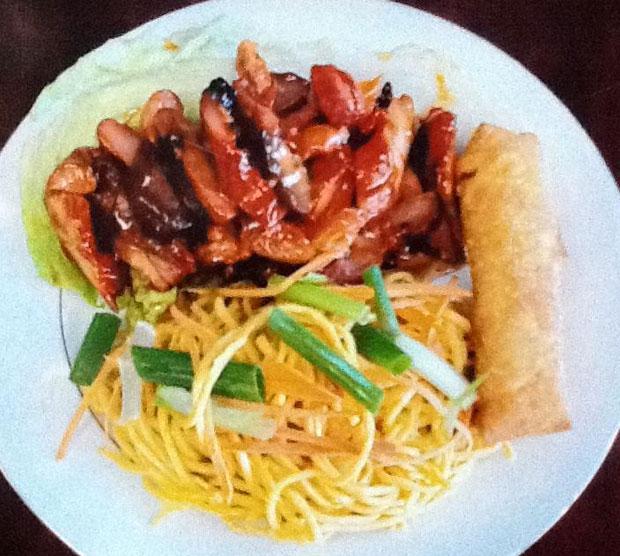 Asian rose menu