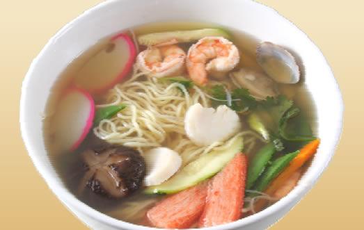 recipe: seafood soba soup [7]