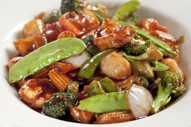 ... asparagus spicy thai basil chicken sesame chicken cashew nut chicken