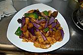 158. Eggplant with garlic sause