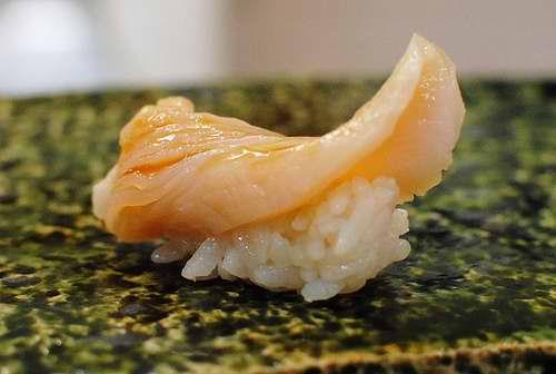Sushi Tendou Giant Clam Sushi