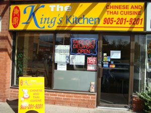 The King\'s Kitchen | Chinese Food | Cantonese | Thai Food ...