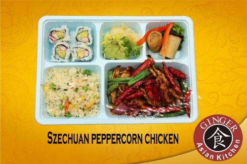 Ginger Asian Kitchen Lima Menu