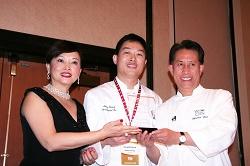 Theresa Lin, Jimmy Zhang and Martin Yan