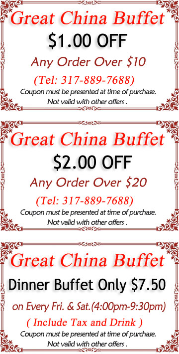 great china buffet coupon online coupons specials discounts rh greatchinabuffet chinesemenu com china buffet coupons omaha ne china buffet coupons avon in