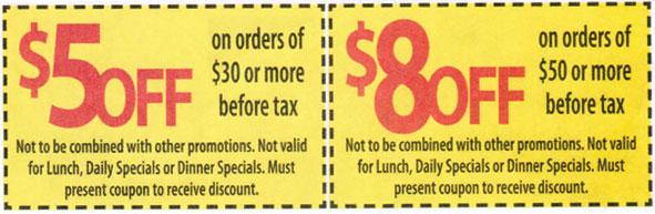 China garden coupons