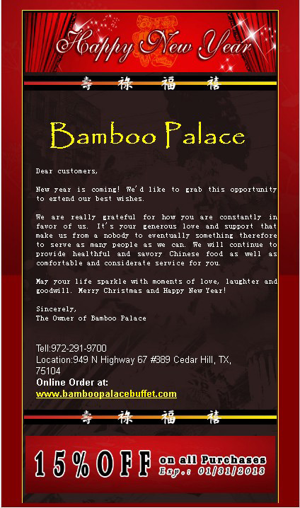 Bamboo valley buffet coupons